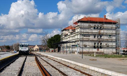 Imagen de archivo de la estación de Aranda de Duero-Montecillo.