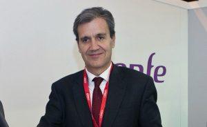 Juan Alfaro Grande, presidente de Renfe Operadora desde diciembre de 2016.