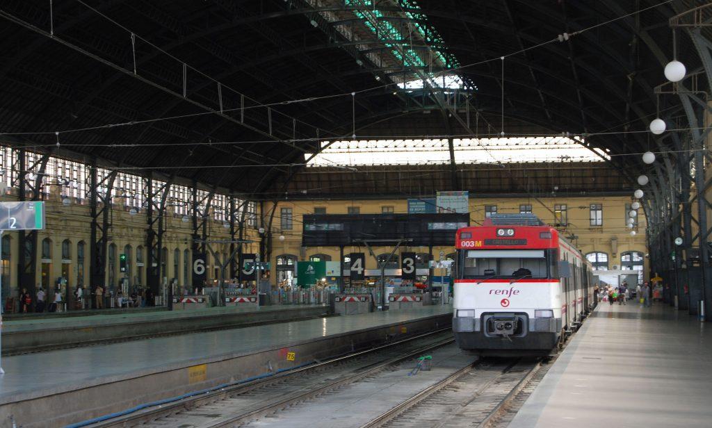Estación del Norte de Valencia/València Estaciò del Nord.