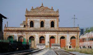 Antigua terminal de Zafra (Badajoz).