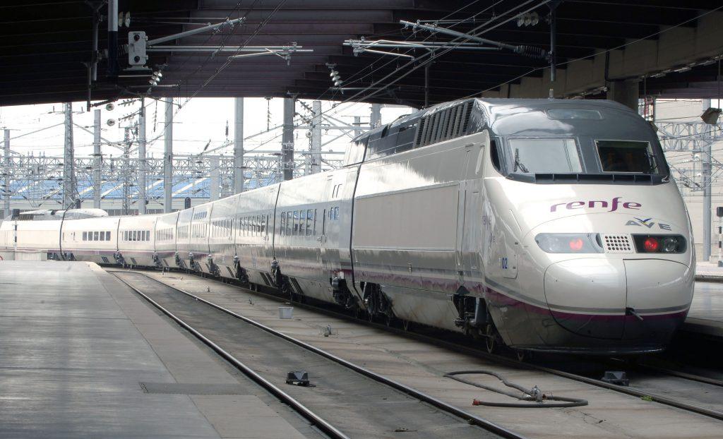 Tren de Alta Velocidad de Alstom. Serie 100 de Renfe Op.