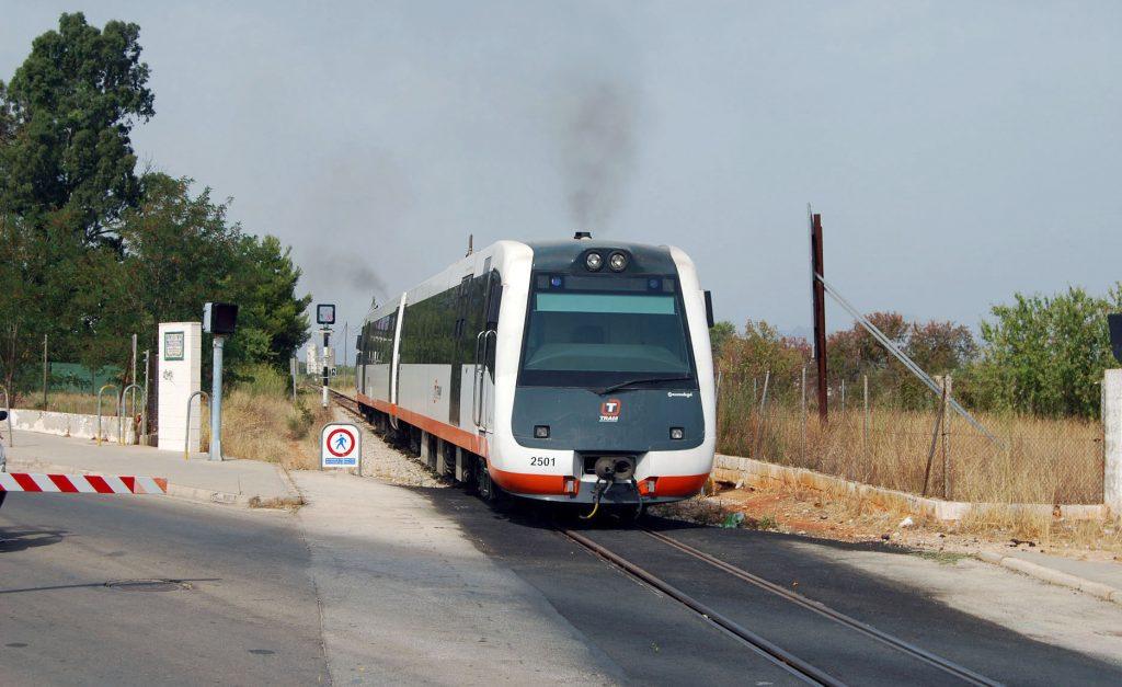 Tren diésel M+M de la serie 2500 de la Compañía FGV.