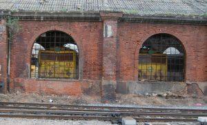 Imagen de archivo de las locomotoras 7901 y 7902 preservadas en Valladolid.