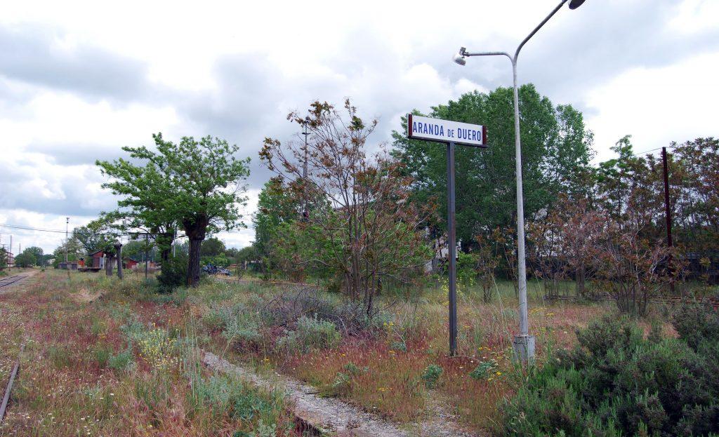 Imagen de archivo de la estación de Aranda de Duero-Chelva.