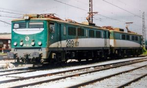 Locomotora eléctrica 289-101-8 de Renfe Mercancías.