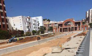 Estación de Denia (FGV). Obras de modernización.