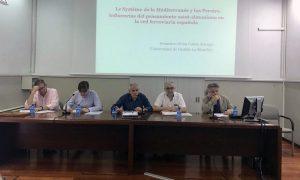Presentación de una comunicación en el VII Congreso de Historia Ferroviaria.