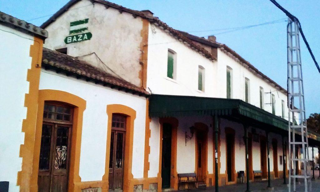 Estación de Baza (Granada).