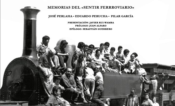 Portada del libro 'Memorias del Sentir Ferroviario'.