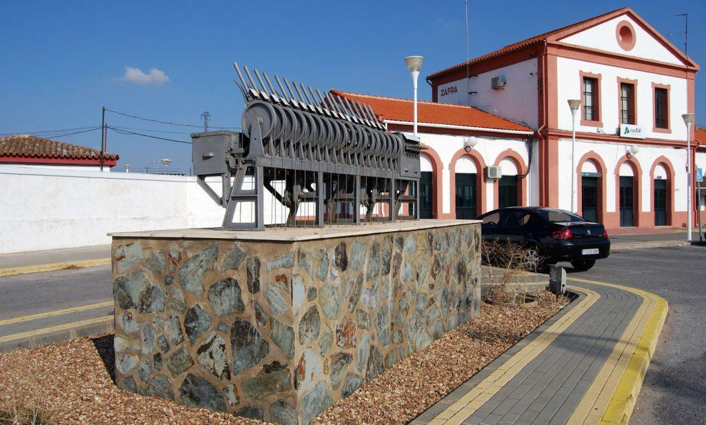 Estación de Zafra (Badajoz).