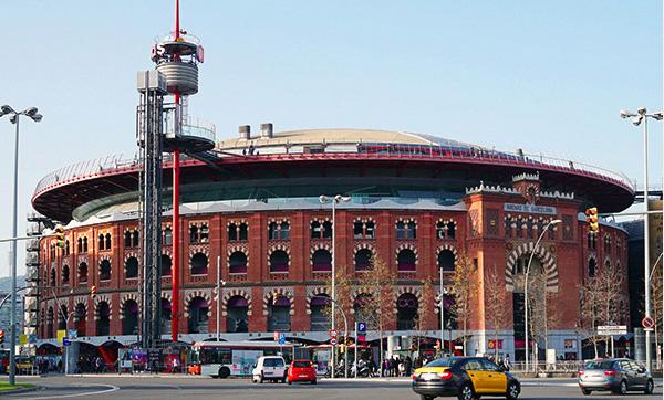 Centro Comercial Las Arenas (Barcelona).