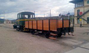 Nuevo vagón del Museo de Móra la Nova.