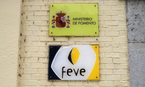 Estación del Ministerio de Fomento-FEVE.