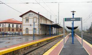 Estación de Haro.