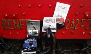 Libros presentados en el Museo de Madrid-Delicias.