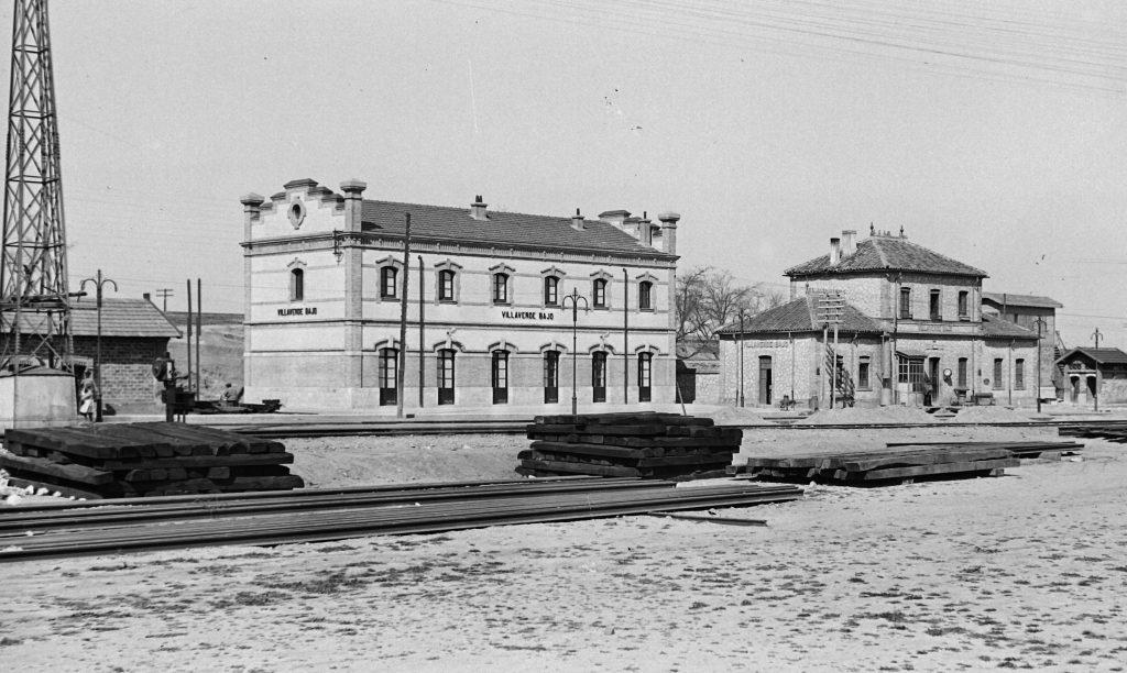 Antiguas instalaciones ferroviarias de Villaverde.