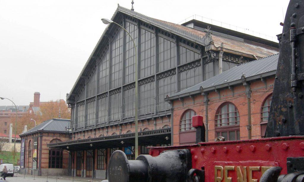 Estación de Madrid-Delicias.