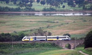 Tren diésel s/2700 de Renfe Ancho Métrico (ex Feve).