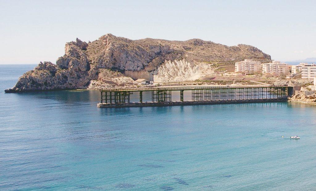 Histórico embarcadero de Águilas (Murcia), El Hornillo.