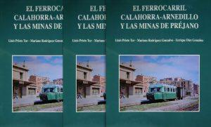 Portada del libro 'El Ferrocarril Calahorra-Arnedillo y...'.