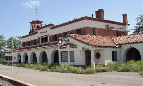 Estación de Caminreal.