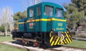 Tractor 10123 en Madrid-Fuencarral.